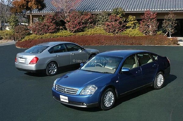 teana   new luxury sedan from nissan   autoworld   my