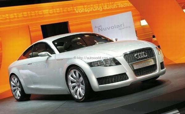 Audi Nuvolari Quattro Autoworld