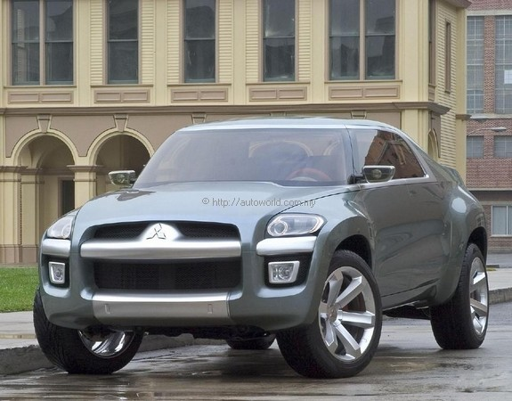 Mitsubishi Sport Truck Concept Autoworld