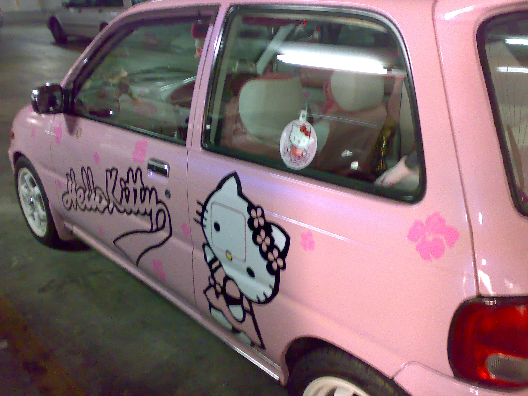 Must see Wallpaper Hello Kitty Car - 251020081081  Pictures_458945.jpg