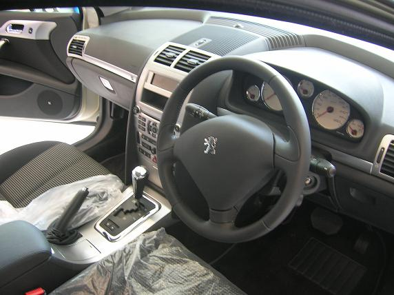 Image gallery interior peugeot 407 2005 for Interior 407 coupe