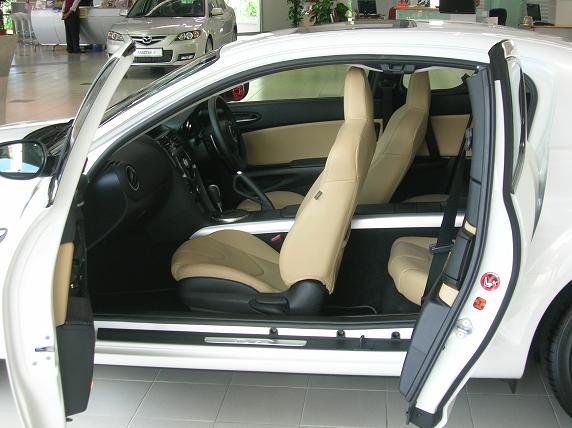 Interior seats 4 comfortably, if you're not too big