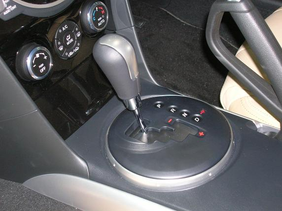 No option for manual transmission - a disappointment.