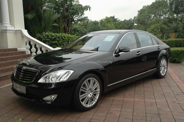 Locally assembled mercedes benz s500 l launched in for Mercedes benz s500 2008