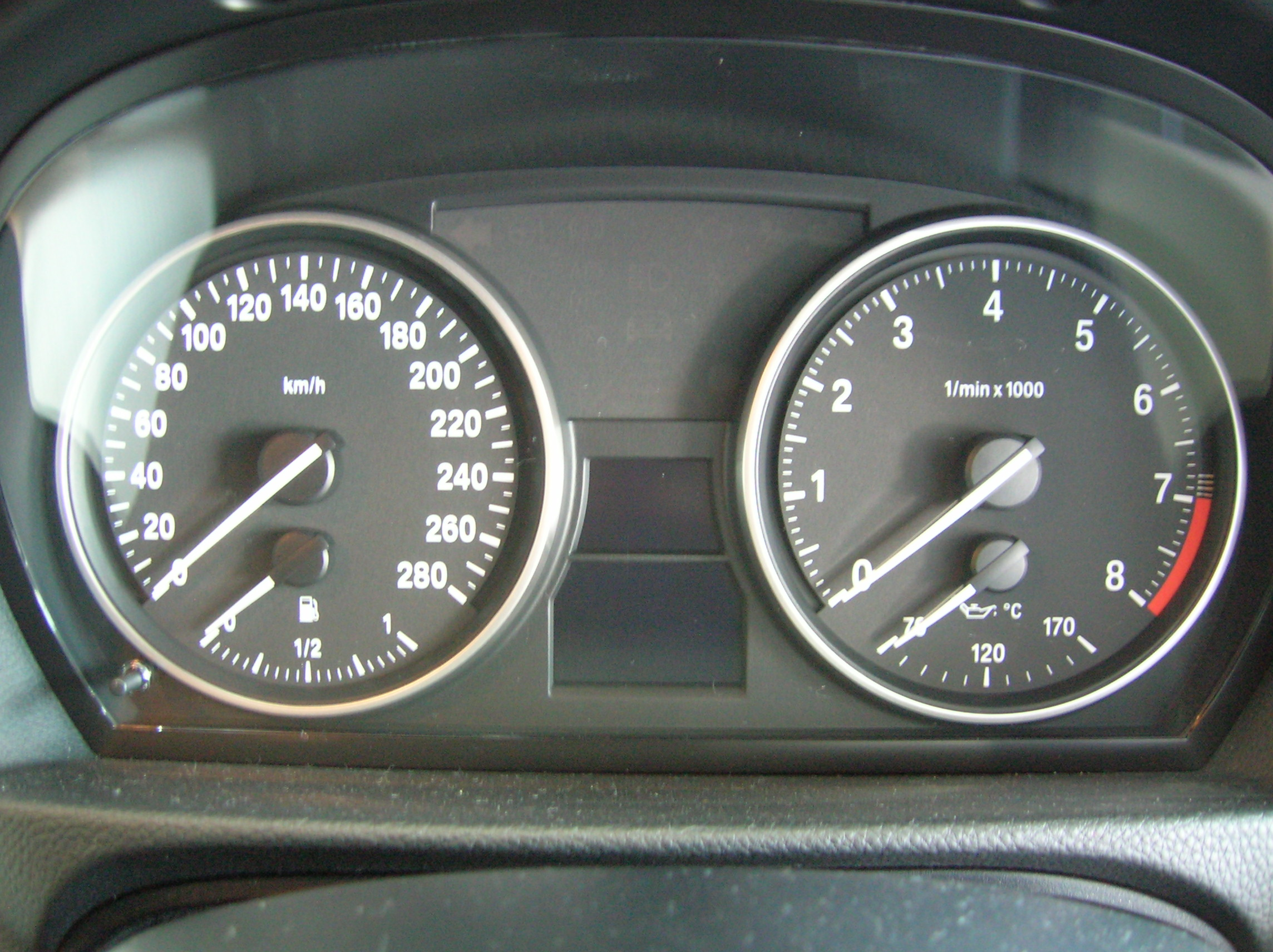 3.0-litre twin-turbo redlines at 7000rpm.