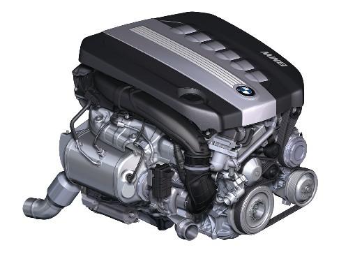 3.0-litre N54B30 engine in 740Li