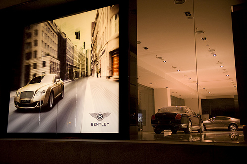 Bentley KL's lights will also switch off for an hour.