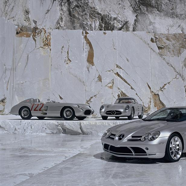 SLR nameplate has huge significance in Merc's history.