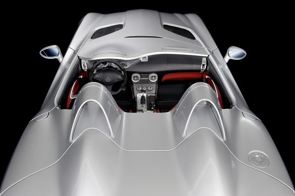 Pair of air scoops the most visible styling 'landmark' of the Stirling Moss.