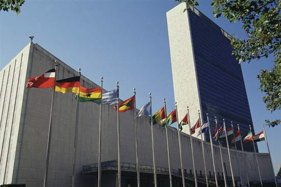 UN building will be joining in the fun too.