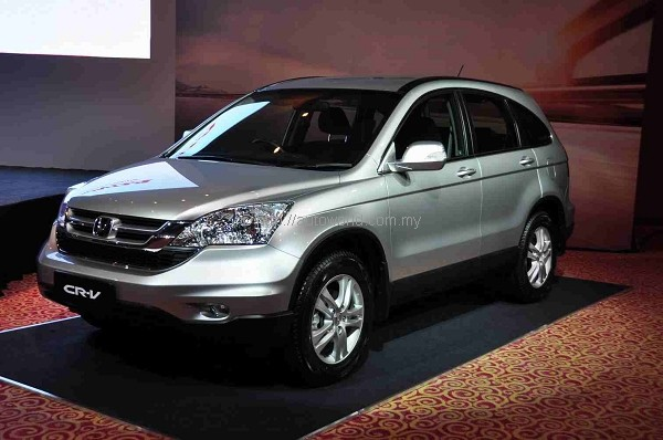 new honda cr v with vsa unveiled