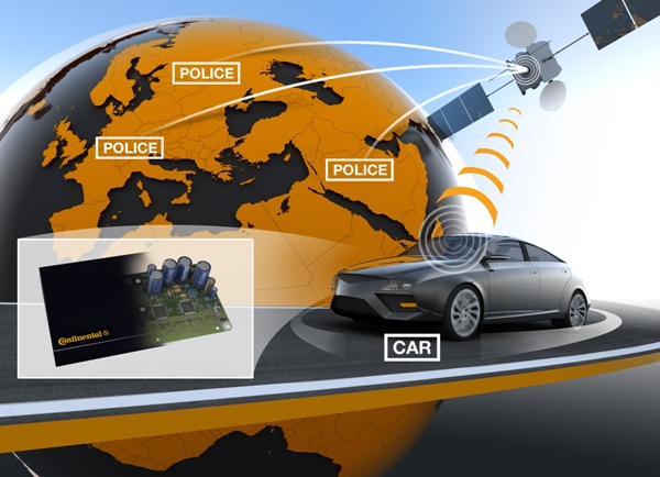 Continental Automotive releases satellite-based vehicle