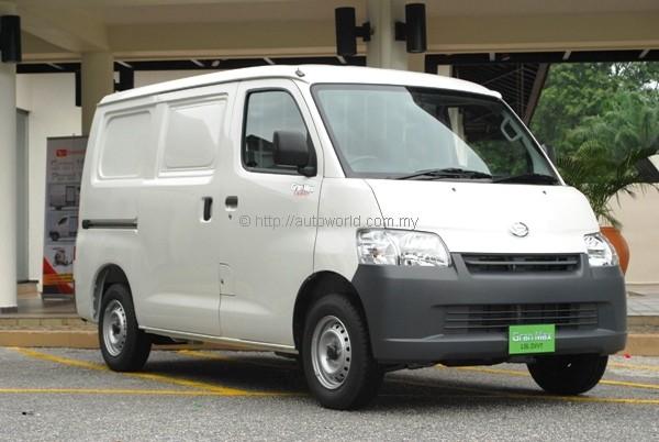 Daihatsu Returns To Commercial Van Scene With Gran Max Panel Van