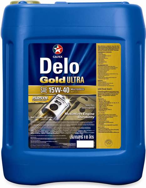 Caltex Delo Gold Ultra Engine Oil For Heavy Duty