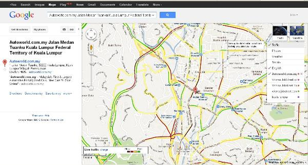 Malaysia-specific updates launched on Google Maps - Autoworld.com.my