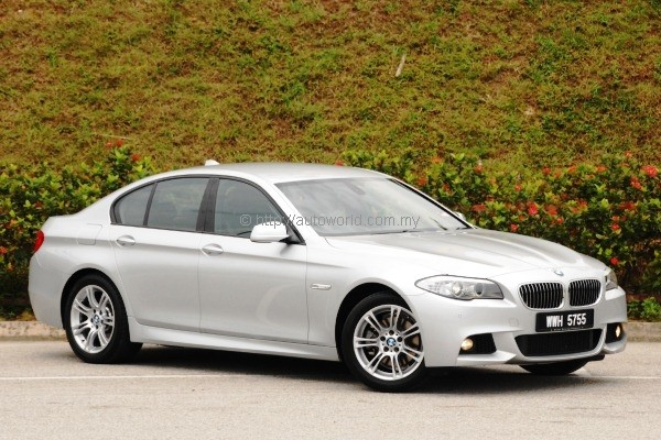 BMW 528i M Sport  N20 4cylinder 5 Series tested  Autoworldcommy