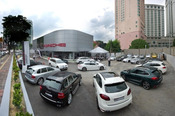 Official Porsche Approved Pre Owned Car Division Launched