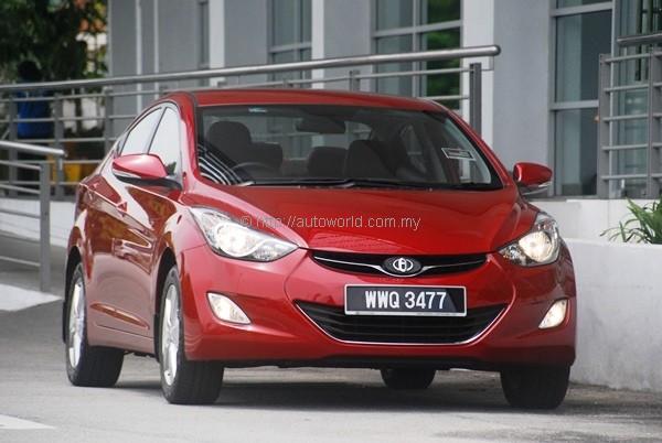 Hyundai Md Elantra 16 At Test Drive Review Autoworldcommy