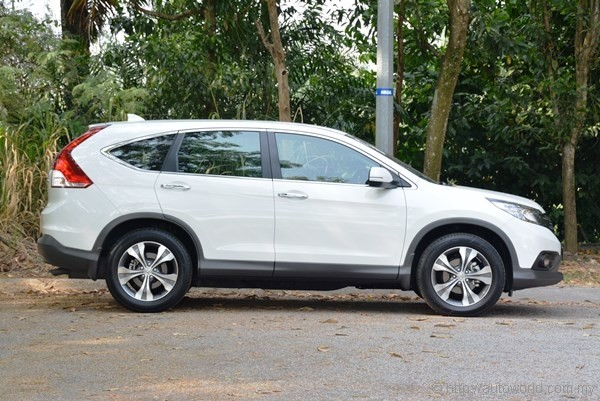Honda CR V 2.4 Test Drive Review