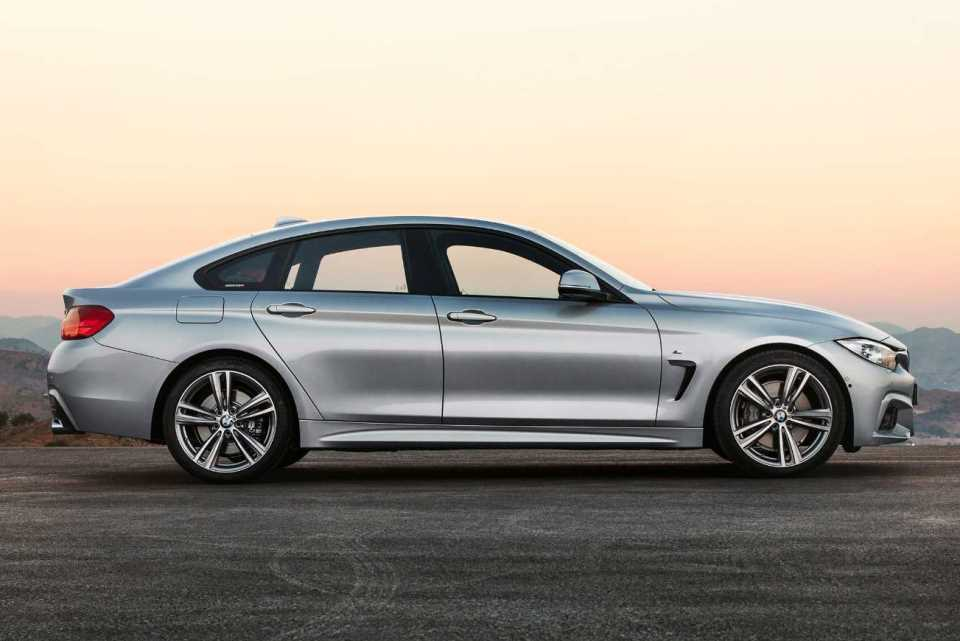 bmw 4 series gran coupe makes global debut. Black Bedroom Furniture Sets. Home Design Ideas