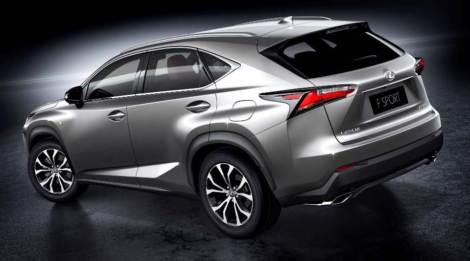 production version of lexus nx to make beijing debut. Black Bedroom Furniture Sets. Home Design Ideas