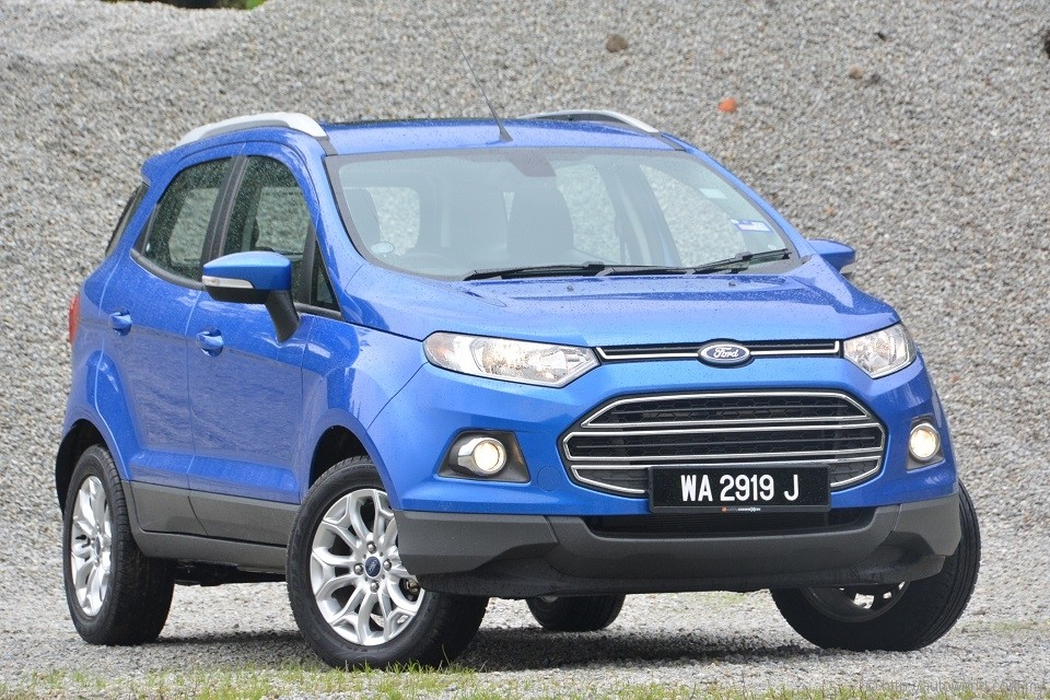ford ecosport test drive review. Black Bedroom Furniture Sets. Home Design Ideas