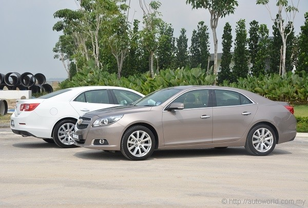 No Complains On The Looks Department. The Malibu Is A Handsomely Styled  Vehicle.