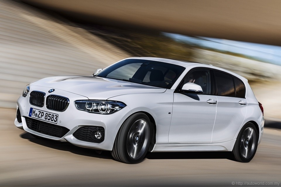 Bmw 1 Series Facelift Makes Global Debut Autoworld Com My