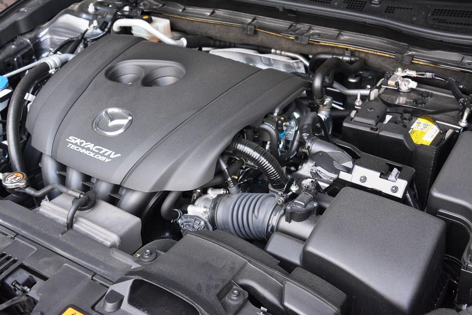2.0-litre SkyActiv-G engine - 162hp, 210Nm.