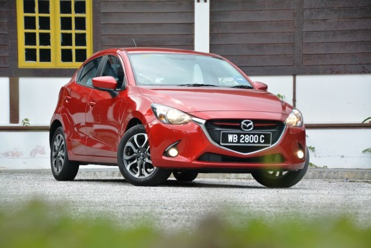 Mazda2 SkyActiv Test Drive Review