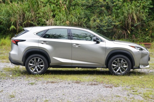 Lexus NX 200t Test Drive Review
