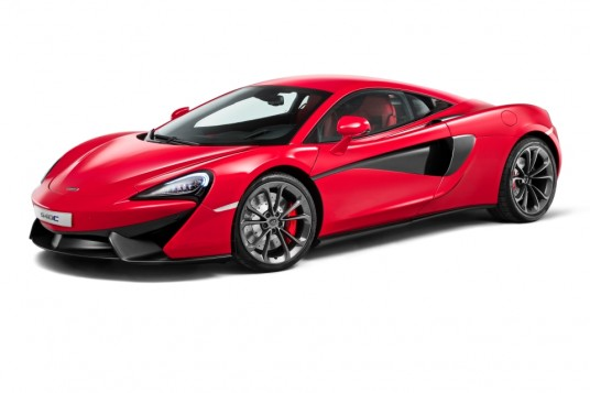McLaren 540C Coupe makes Shanghai global debut