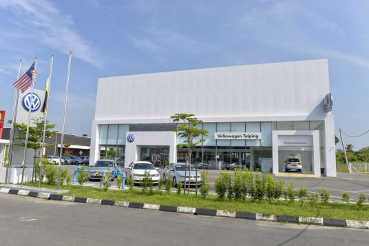 Volkswagen launches first 3S facility in Taiping