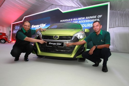 Perodua launches 'GearUp' original accessories