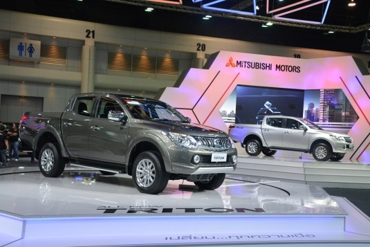 2015 Mitsubishi Triton opens for bookings