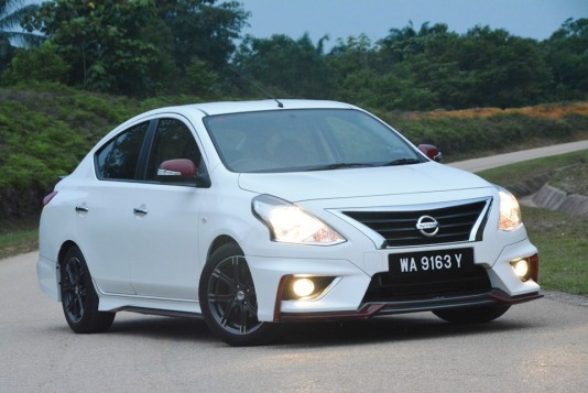 2015 Nissan Almera VL A/T NISMO Test Drive Review