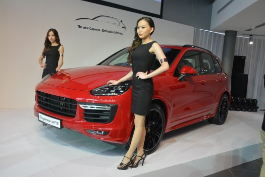 Porsche 911 Targa 4S and new Cayenne unveiled at new Sg Besi showroom launch