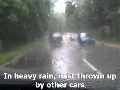 Video: Driving in the Rain