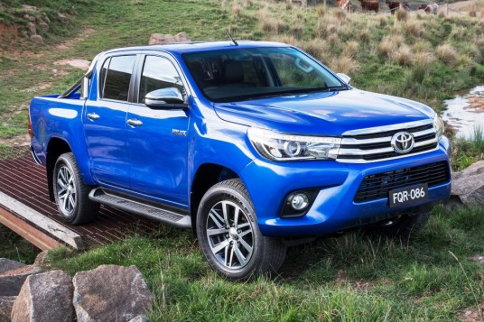 Global debut for all-new Toyota Hilux