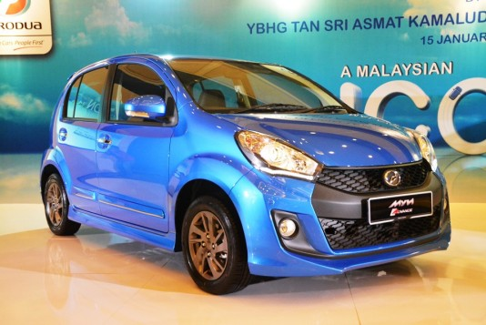 Perodua targets to sell 1 millionth Myvi by 2017