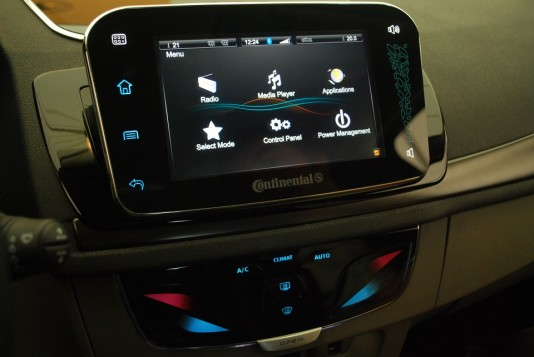 Continental Automotive announces new touchscreen with haptic feedback